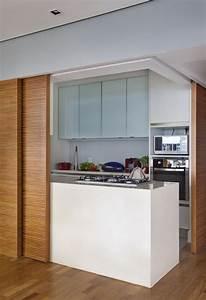petite cuisine semi ouverte cuisine semiouverte tons With meubler une petite cuisine 6 comment meubler votre cuisine semi ouverte archzine fr