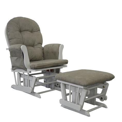 Rocking Chair Cushions Nursery Decor by White Glider Rocking Chair Nursing Maternity Chair Free