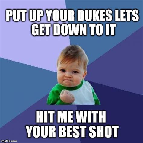 Meme Shot - success kid meme imgflip