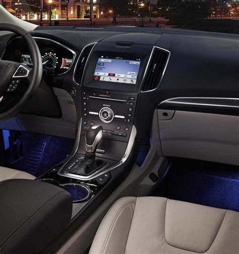 Ford Edge Interior 2018 Psoriasisgurucom