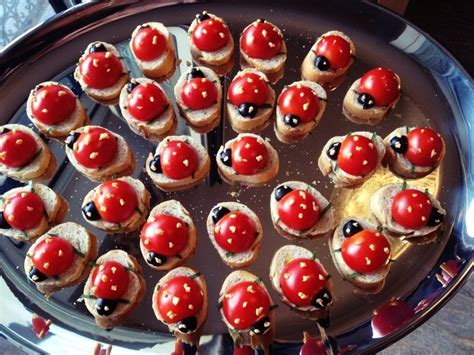 and easy canapes finger food ideas to your rock youne