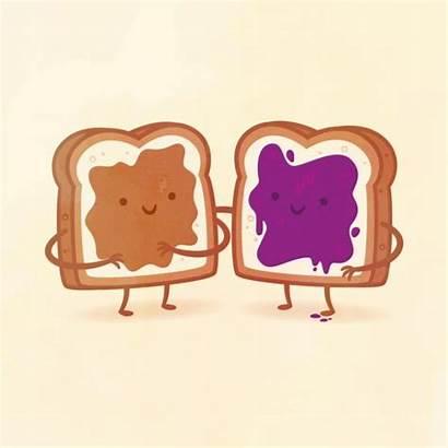 Friends Taste Buds Foods Illustrated Pairs