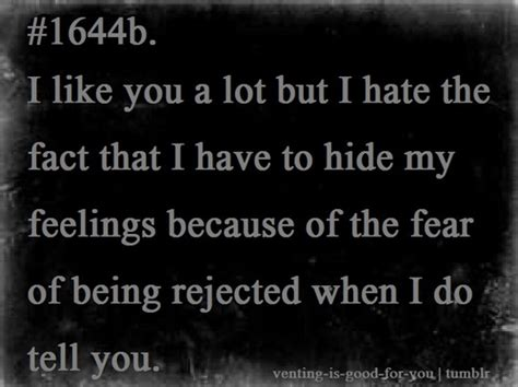 Fear Of Rejection Quotes Tumblr Image Quotes At