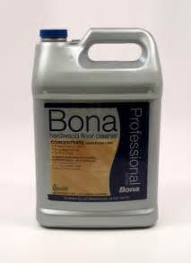 bona pro series hardwood floor cleaner concentrate gallon