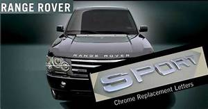 aftermarket accessories aftermarket accessories range With range rover replacement letters