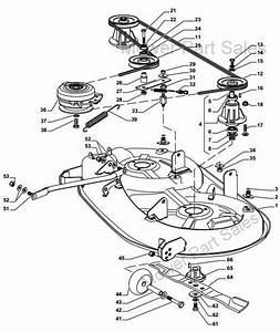 Cutter Deck Drive Belt Fits Castel Garden Xd140  Sd98