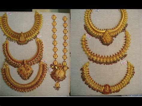 episode traditional gold antique jewellery designs