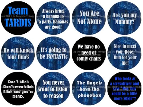 Series Da Bbc - doctor who buttons by fangirls trilogy on deviantart