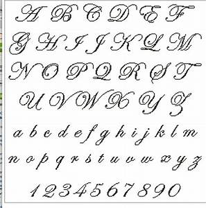 Stitch Cursive Font | www.imgkid.com - The Image Kid Has It!