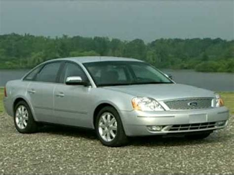 2007 Ford 500 Review by Motorweek Of The 2005 Ford Five Hundred