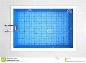 Empty Swimming Pool Top View Stock Images - Image: 38345164