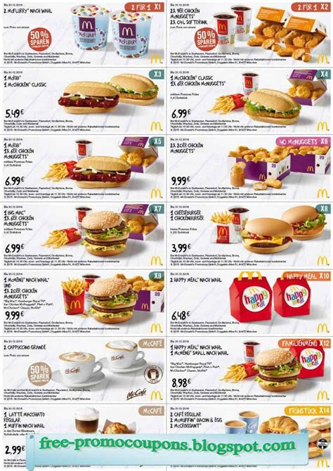 80830 Food Coupons South Africa by Free Printable Mcdonalds Coupons Restaurant Promo Codes