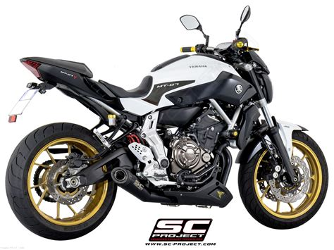 yamaha mt 07 sc project conic exhaust by sc project yamaha fz 07 2016 y14 c21mb