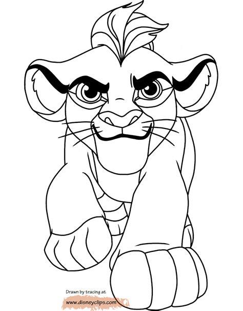 lion guard coloring pages disneyclipscom