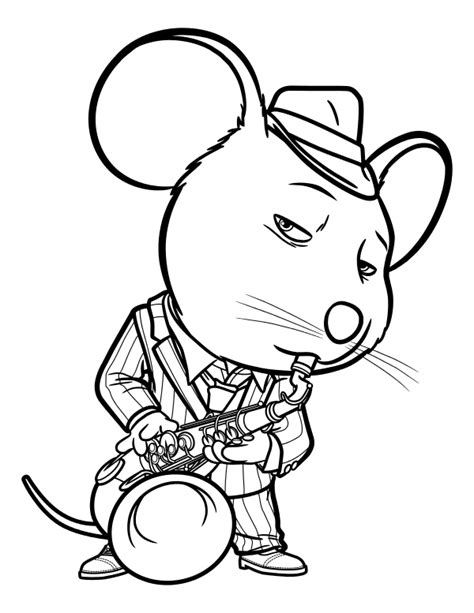 sing  coloring pages    print