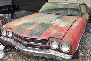 Hidden For 40 Years  1970 Ls6 Chevelle Ss 454