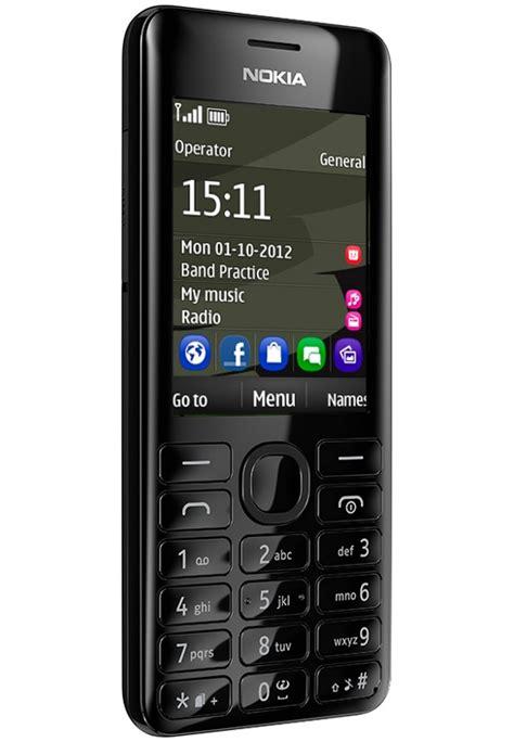 phone brand new nokia 206 black single sim unlocked mobile
