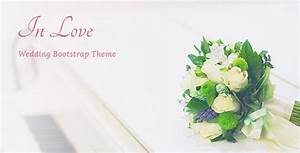 inlove responsive html wedding template by nk themeforest With wedding invitation template themeforest