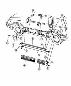 2004 Jeep Grand Cherokee Body Parts Diagram