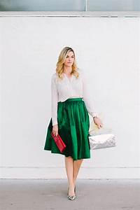 Green Midi Skirt - Dash of Darling