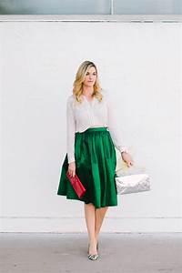 Green Midi Skirt - Dash of Darling