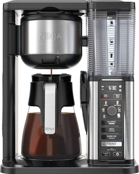 It comes with a carafe that is made of highly durable stainless steel. Ninja - 10-Cup Coffee Maker - Black/Stainless Steel ...