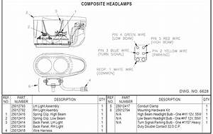 Hiniker Plow Light Diagrams