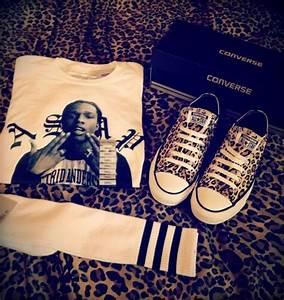 T-shirt: asap rocky, a$ap rocky, swag, shoes, pants ...