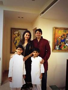Madhuri Dixit spotted with family   PINKVILLA