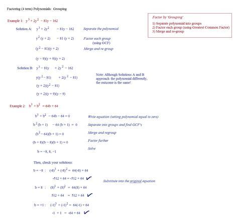 worksheet factoring binomials and trinomials worksheet