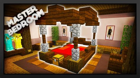 minecraft     master bedroom youtube