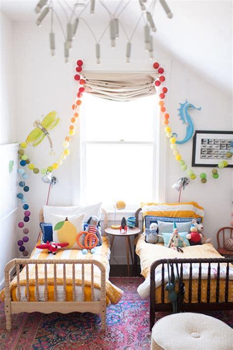 Decorer Une Chambre Chambre D Enfant Partag 233 E Comment Am 233 Nager Et D 233 Corer