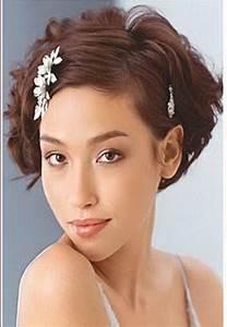 Coiffure Cheveux Court : coiffure cheveux court pour mariage ~ Melissatoandfro.com Idées de Décoration