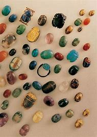 Ancient Egyptian Scarab Jewelry