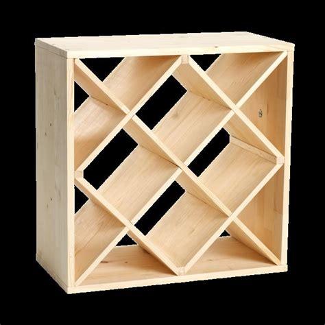 casier a bouteilles en bois casier bouteille bois table de lit