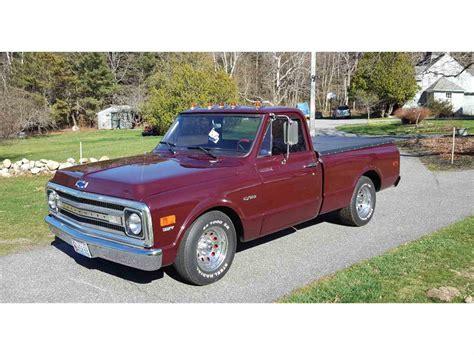 1969 Chevrolet C10 For Sale  Classiccarscom Cc823775