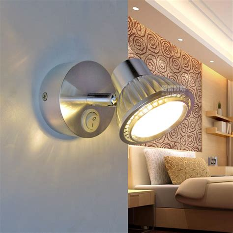Lighting Up Your Night Through Switching On The Wall