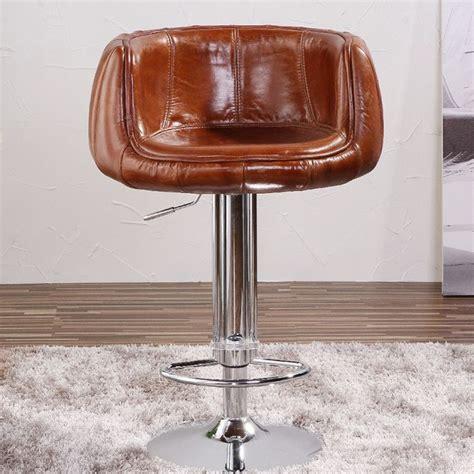 chaise de bar cuir antique chaise de bar en cuir v 233 ritable de l aviation