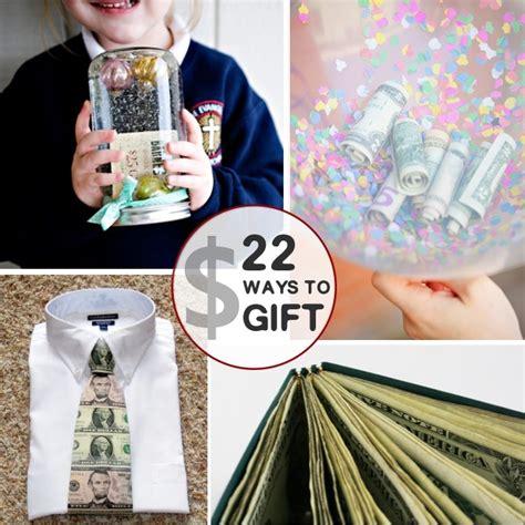 unique ways to use creative ways to gift money activities 4