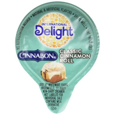 If you guys know anything about me, it's that i loooove my cold brew. International Delight Cinnabon Classic Cinnamon Roll Liquid Creamer, 288 Count Shelf Stable ...