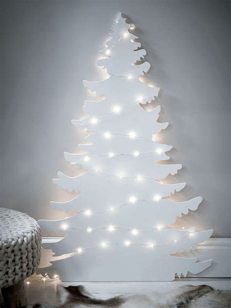 modern lighted christmas tree 12 modern christmas trees you can decorate with this