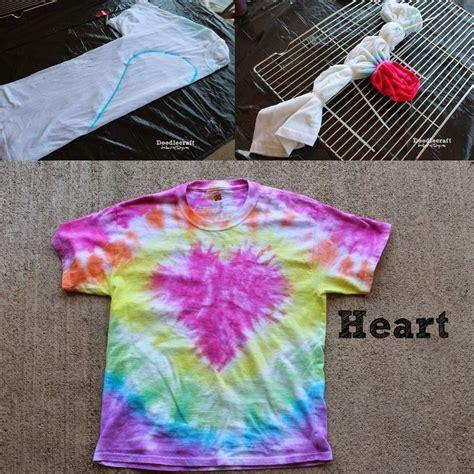 Tulip Tie Dye T Shirt Party Heart Pattern Summer