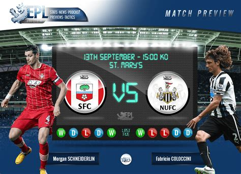 Southampton vs Newcastle United Match Preview - EPL Index ...