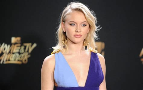Zara Larsson calls out tabloid for 'writing about her nipples