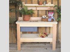 Amusing Potting Bench Design With Sink Ideas Exterior