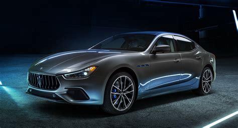 Maserati Ghibli Hybrid Breaks Cover With 330 HP, Updated ...