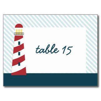 nautical postcard template nautical wedding table numbers postcards postcard