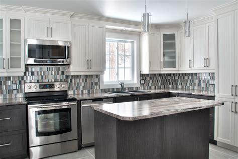 armoire en coin cuisine comment choisir le matériau du comptoir de cuisine
