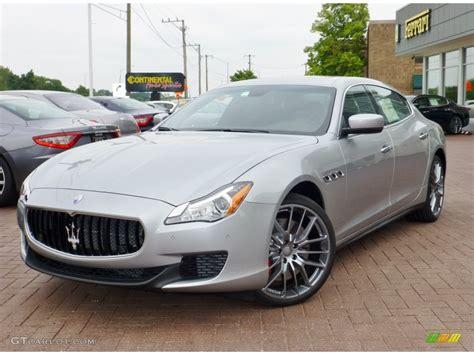 2014 Grigio Metallo Silver Metallic Maserati