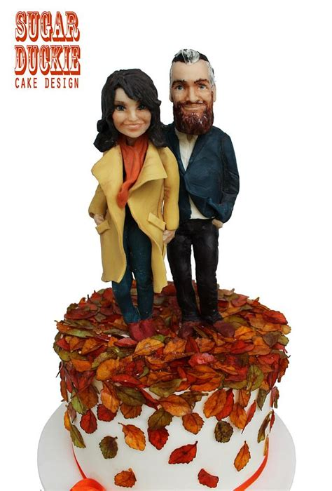 Gav And Gwens Autumn Wedding Cake By Sugar Duckie Maria